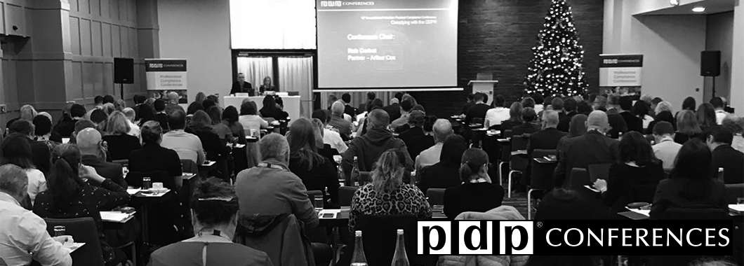 PDP's annual conference is Dublin's leading two day Data Protection Event