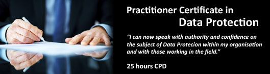 Practitioner Certificate in Data Protection