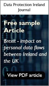 Free Sample Article - Data Protection Ireland